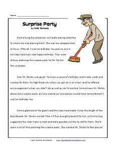 Surprise Party by Kelly Hashway