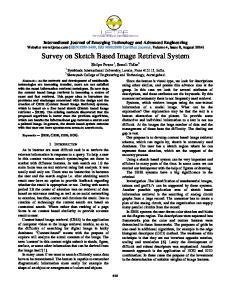Survey on Sketch Based Image Retrieval System