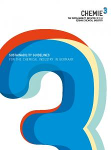 SUSTAINABILITY GUIDELINES FOR THE CHEMICAL INDUSTRY IN GERMANY