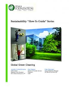 Sustainability How-To Guide Series