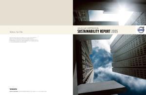 sustainability report 2005
