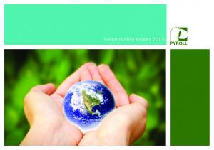 Sustainability Report 2013