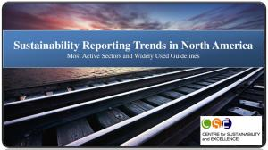 Sustainability Reporting Trends in North America Most Active Sectors and Widely Used Guidelines
