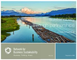 sustainability through partnerships