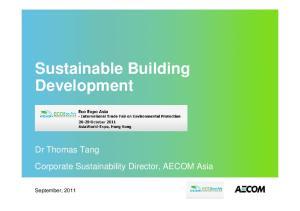 Sustainable Building Development