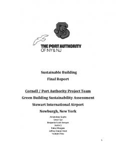 Sustainable Building Final Report