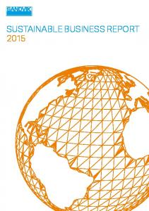 SUSTAINABLE BUSINESS REPORT 2015