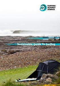 Sustainable Guide To Surfing