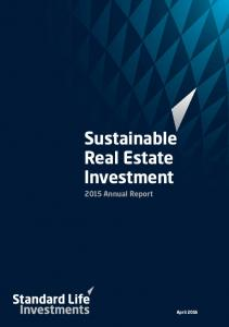 Sustainable Real Estate Investment