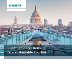 Sustainable solutions for a sustainable London