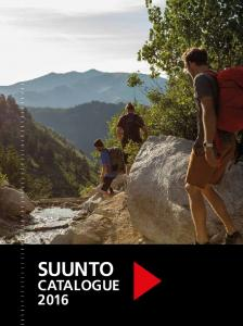 SUUNTO CATALOGUE 2016