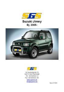 Suzuki Jimny Bj