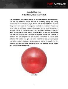 Swiss Ball Exercises By Dan Plews, Head Coach Tribob