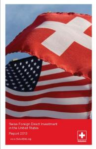 Swiss Foreign Direct Investment in the United States Report