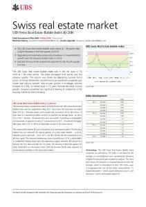 Swiss real estate market