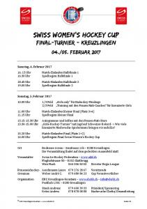 Swiss Women s Hockey Cup Final-turnier - Kreuzlingen