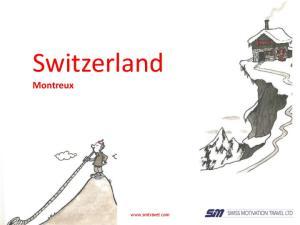 Switzerland. Montreux.  1