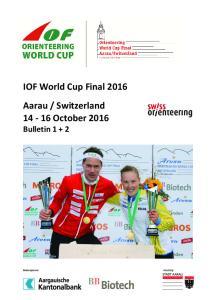 Switzerland October 2016 Bulletin 1 + 2