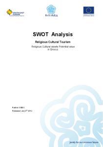 SWOT Analysis Religious Cultural Tourism