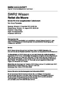 SWR2 Wissen Rettet die Moore