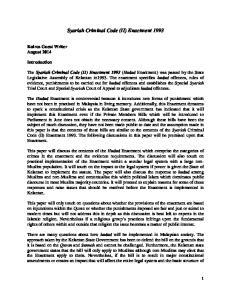 Syariah Criminal Code (II) Enactment 1993