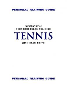 SYBERVISION NEUROMUSCULAR TRAINING TENNIS WITH STAN SMITH