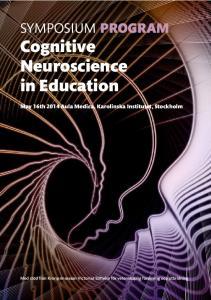 SYMPOSIUM PROGRAM Cognitive Neuroscience in Education