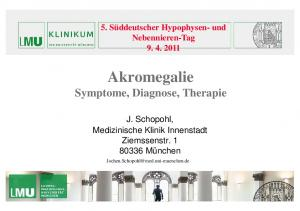 Symptome, Diagnose, Therapie