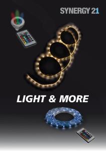 Synergy 21LED Strip. LED Strip indoor. LED Strip outdoor
