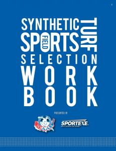Synthetic Turf Sports Field Selection Workbook