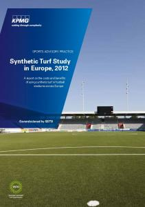 Synthetic Turf Study in Europe, 2012