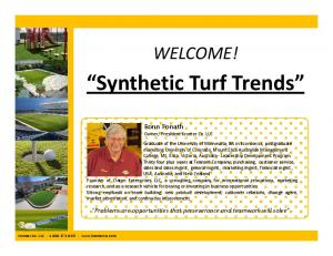 Synthetic Turf Trends