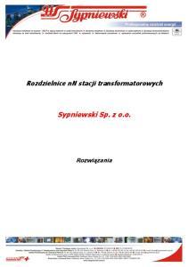 Sypniewski Sp. z o.o