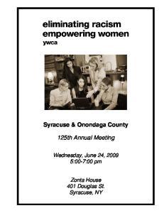 Syracuse & Onondaga County