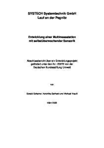 SYSTECH Systemtechnik GmbH Lauf an der Pegnitz