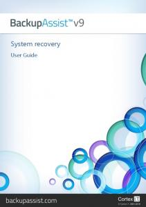 System recovery. User Guide