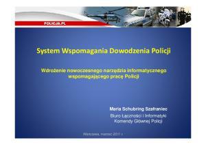 System Wspomagania Dowodzenia Policji