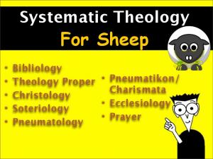 Systematic Theology For Sheep