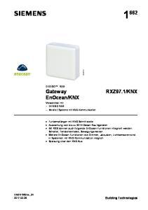Systeme mit KNX-Kommunikation