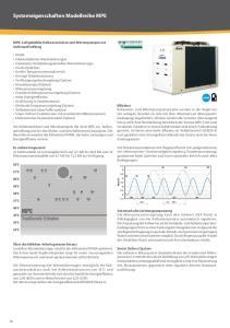 Systemeigenschaften Modellreihe MPE