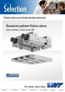 Systemy mocowania z punktami zerowymi WNT