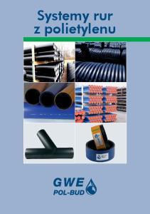 Systemy rur z polietylenu
