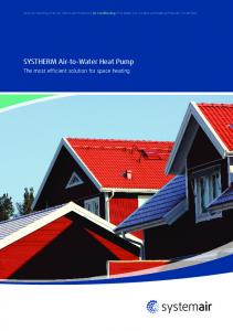 SYSTHERM Air-to-Water Heat Pump