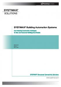 SYSTIMAX Building Automation Systems