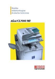 Szybka wielofunkcyjna drukarka kolorowa
