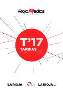 T 17 TARIFAS DE PUBLICIDAD