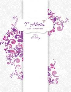 T. Aletta EVENT STATIONERY. Holiday