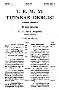 T. B. M. M. # TUTANAK DERGİSİ