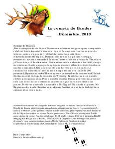 T La corneta de Bauder Diciembre, 2013
