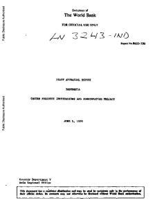 t Report No.8603-IND